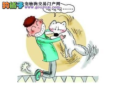 狗狗不喜欢被人抱的原因